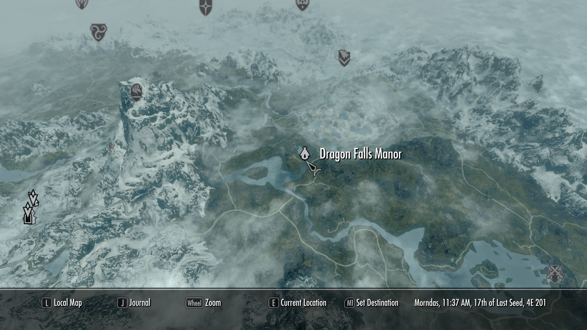 Dragon Falls Manor Elder Scrolls Skyrim Houses Images