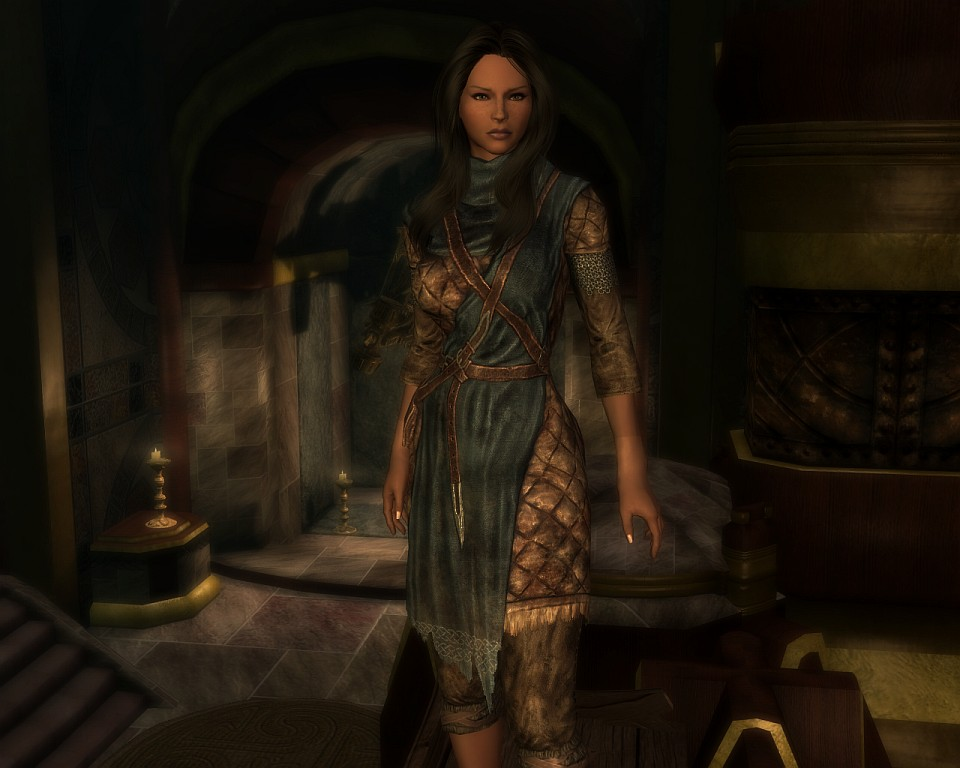 Calientes Vanilla Outfits Elder Scrolls Skyrim Clothing Images