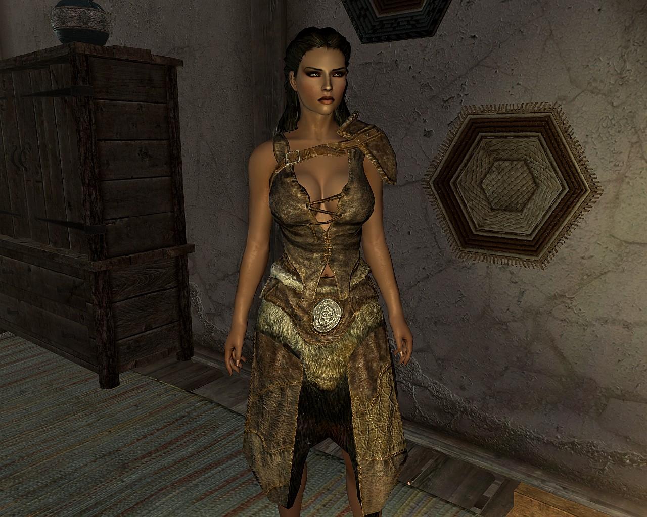 calientes vanilla outfits elder scrolls skyrim clothing