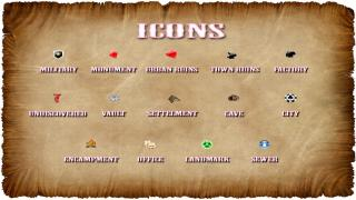 Shiloh DS Colored Map and Icons