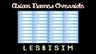 Asian Names Override