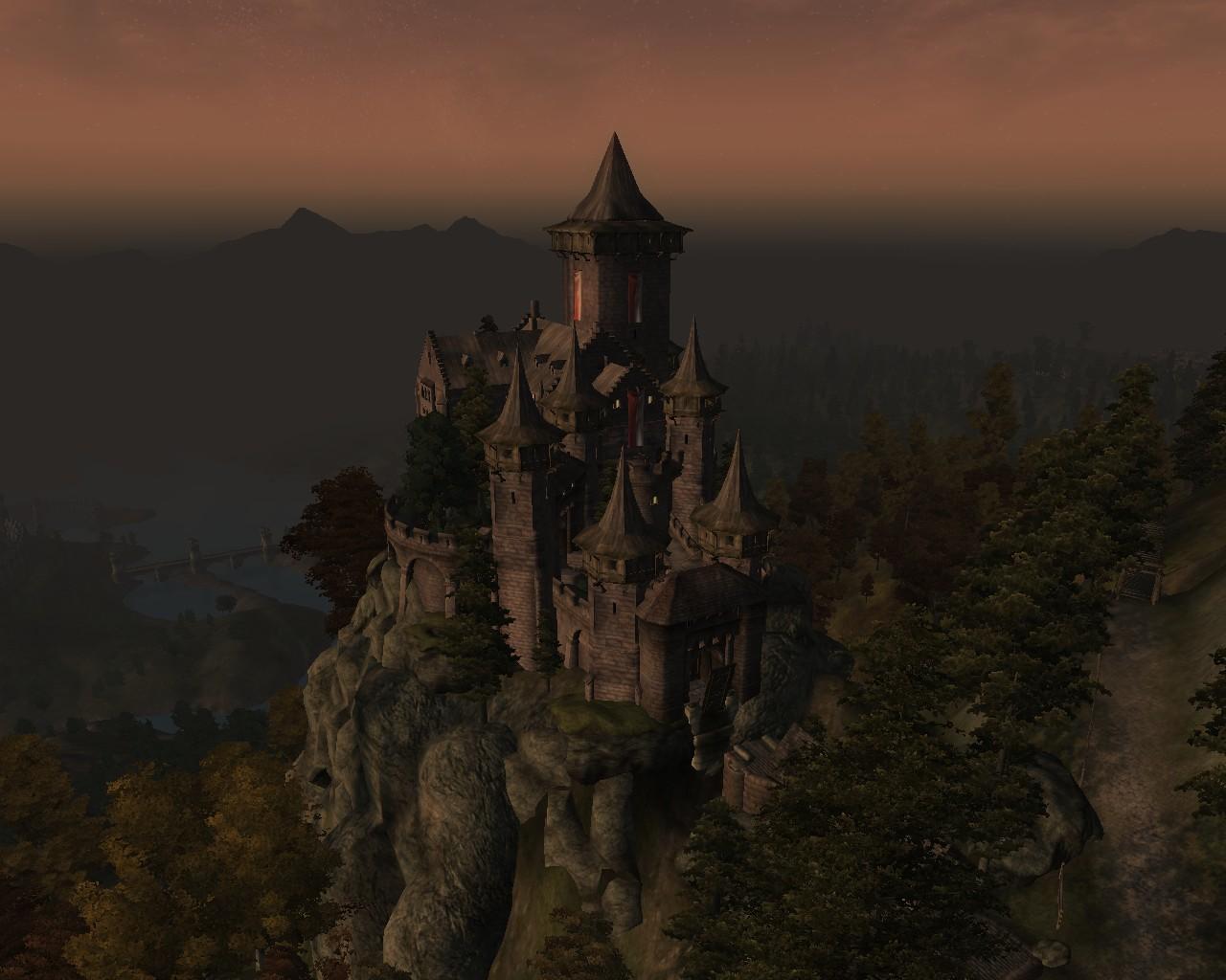 Castle Wolfspike Elder Scrolls Oblivion Castles Images