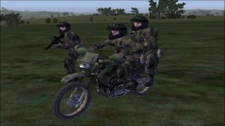 KLR 250 Motorcycle