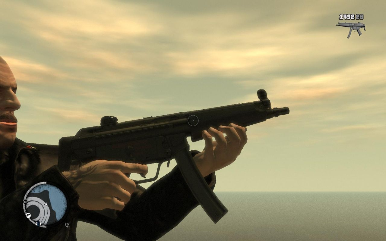 Navy MP5 - GTA 4 Weapons Images