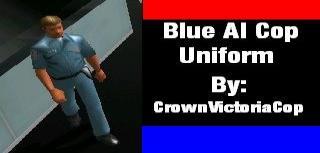 AI Cop Uniform Replacements