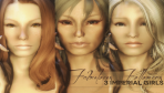 Fabulous Followers 3 Imperial Girls for Elder Scrolls Skyrim