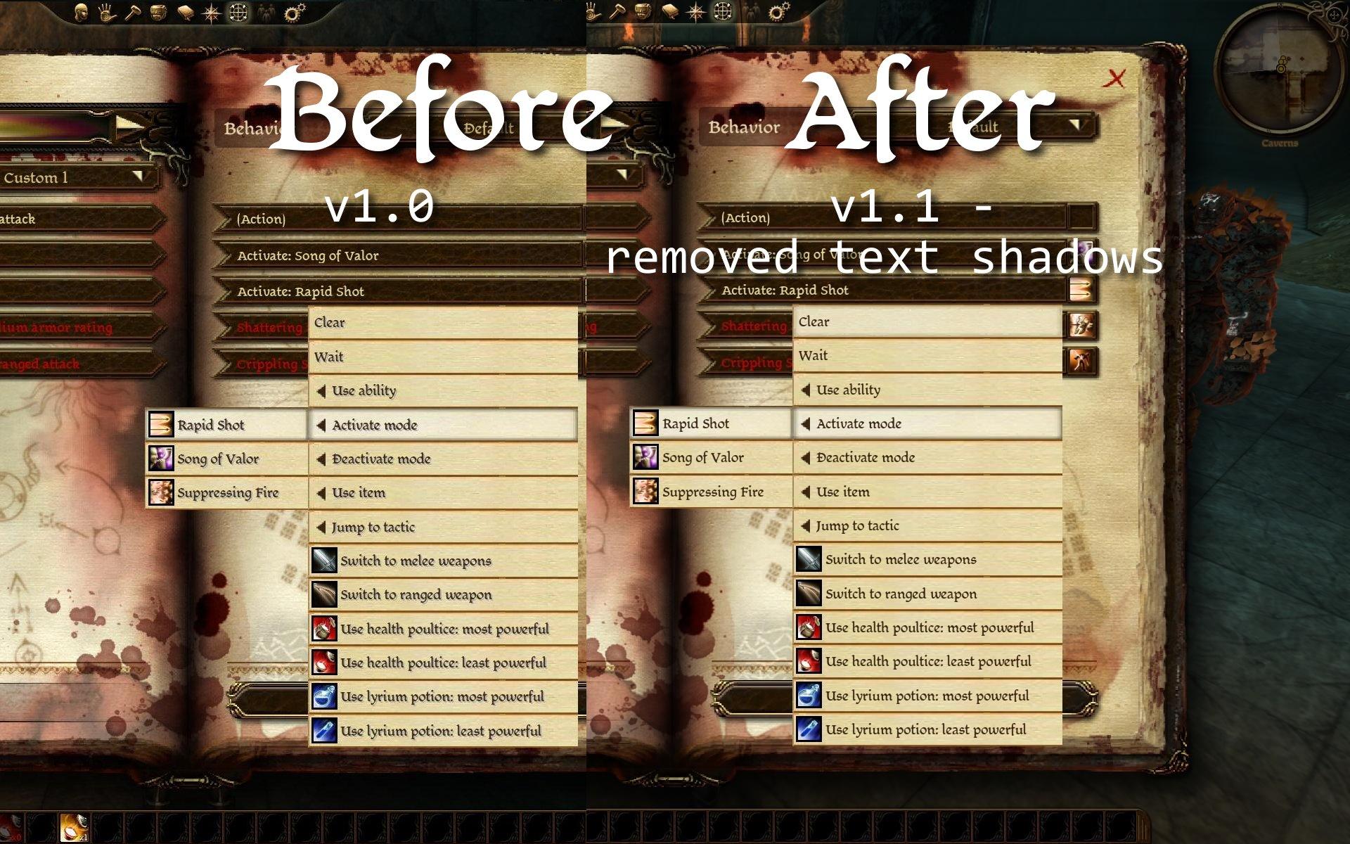 FtG UI Mod - Dragon Age Origins Images