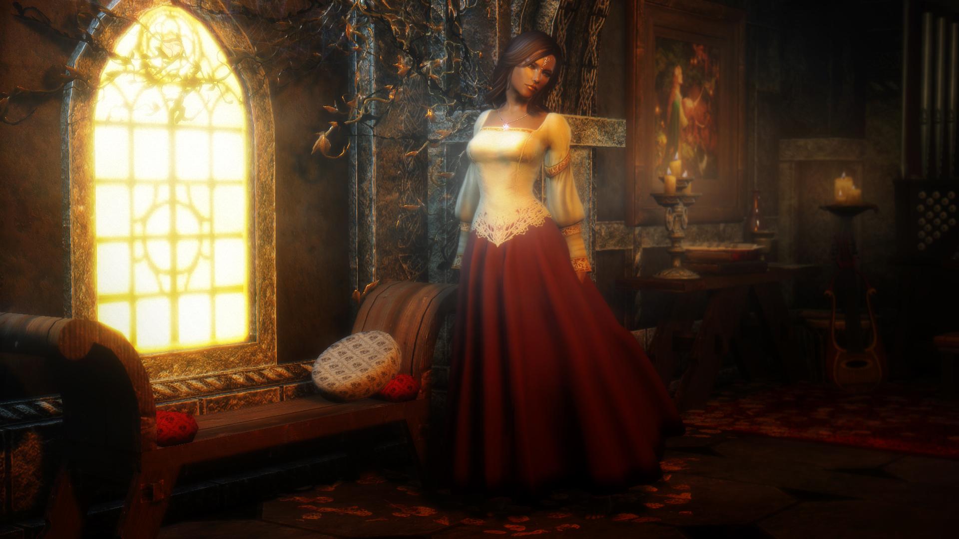 Skyrim Wedding Dress.Noble Wedding Dress Elder Scrolls Skyrim Clothing Images Page 2