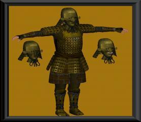 Armor of the Samurai Champion