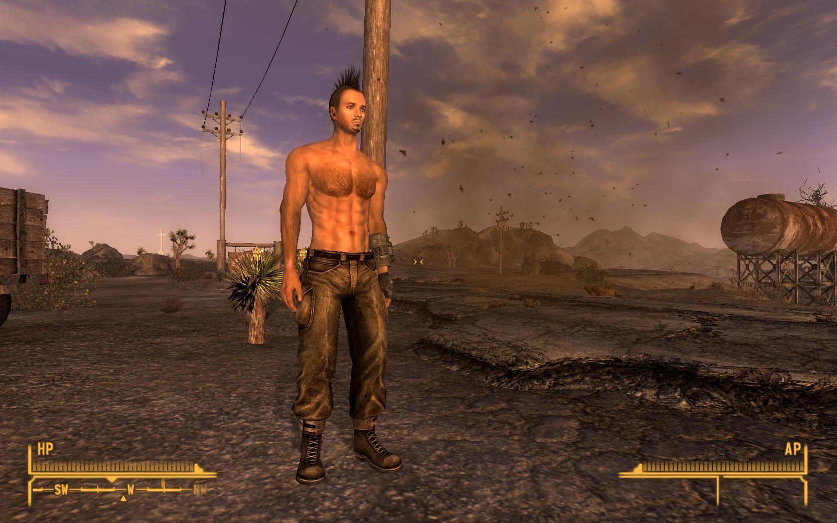 Fallout 3 nude male mod hentai photo