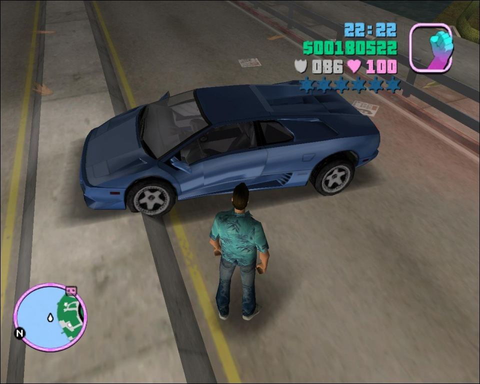 Скачать GTA Vice City - Back To The Future Hill Valley 0.2 d ENG