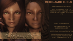 Fabulous Followers 5 Redguard Girls for Elder Scrolls Skyrim