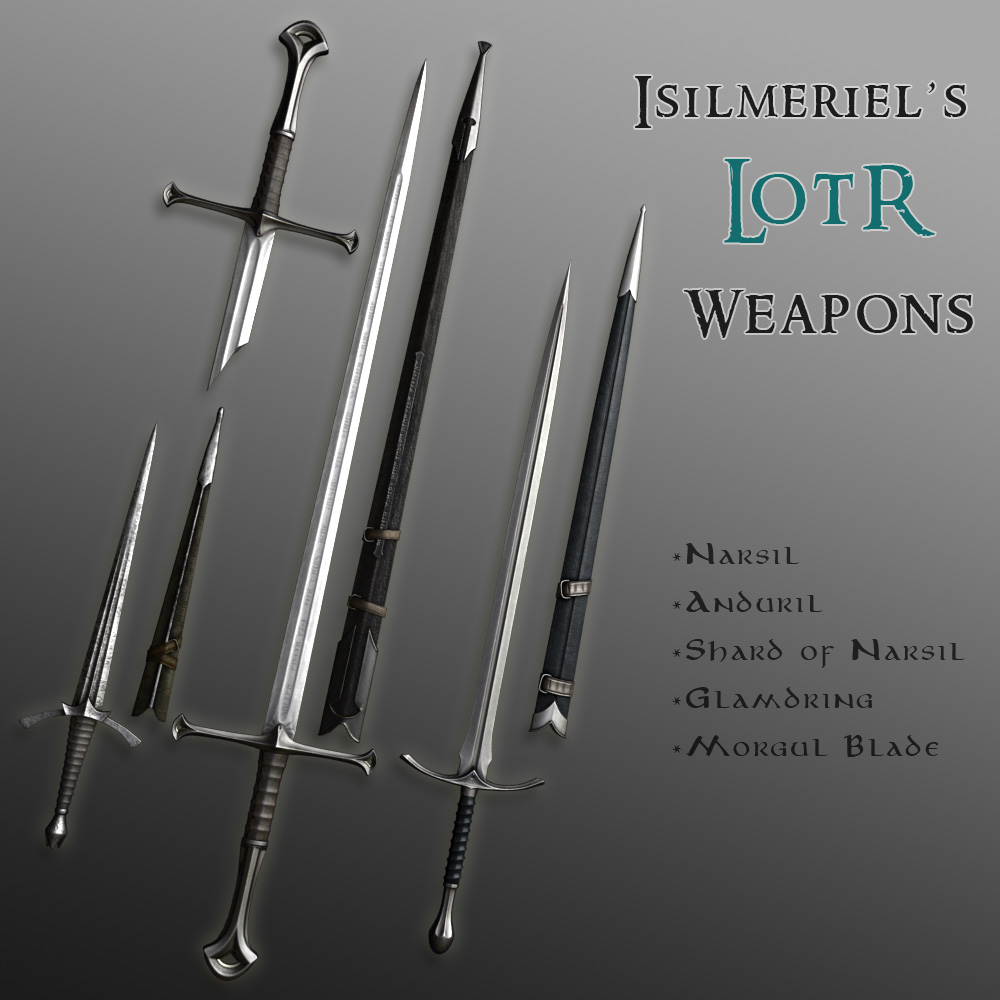 Lotr Weapons Collection Skyrim
