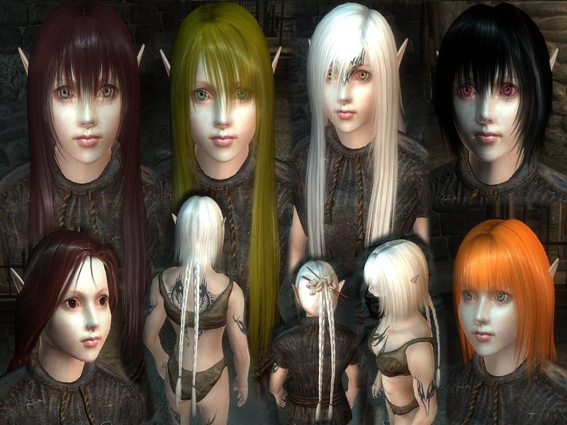 Rens Beauty Pack - Elder Scrolls Oblivion Hair Images