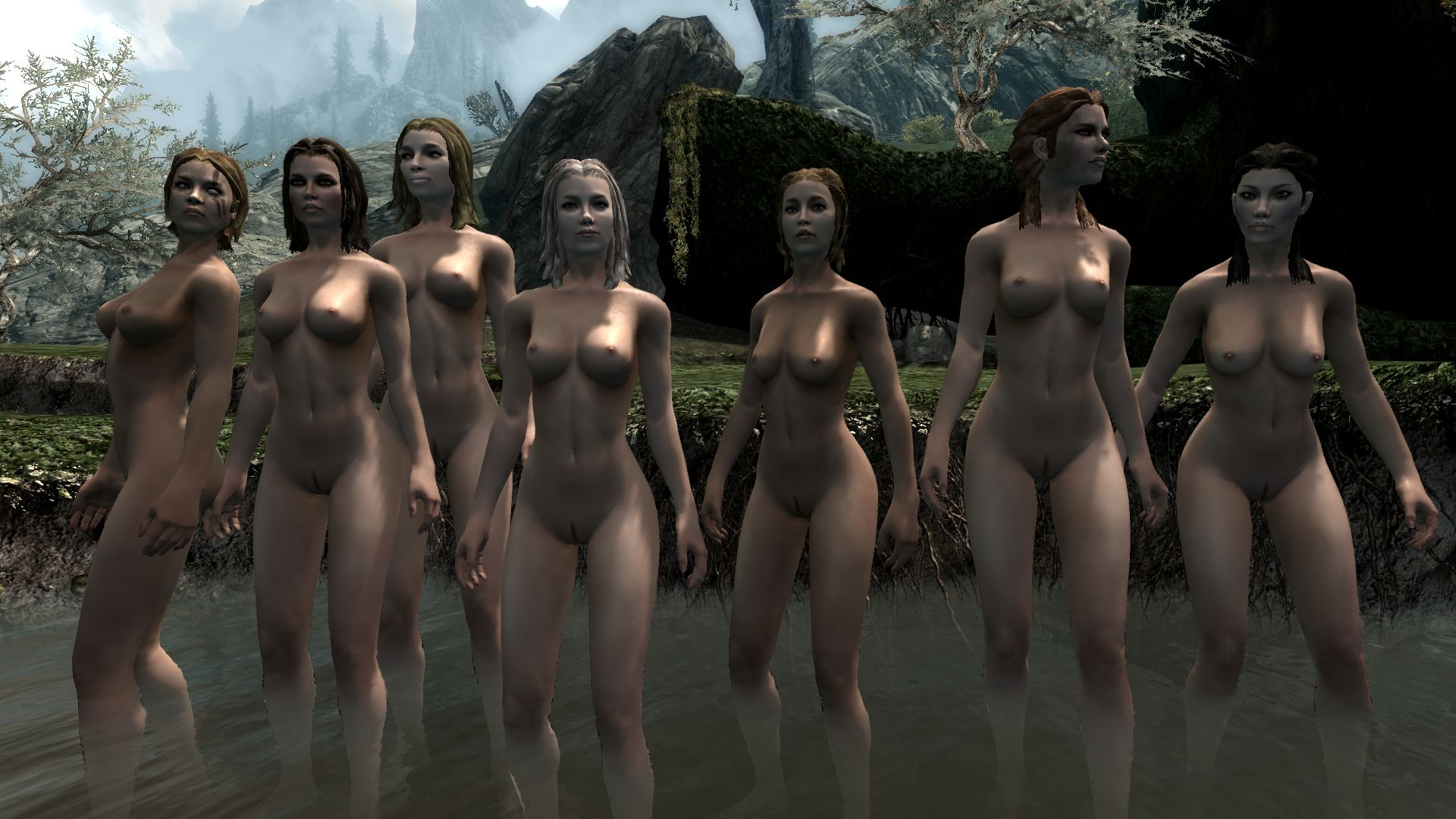 Skyrim adult-only mods sex hardcore nude breasts
