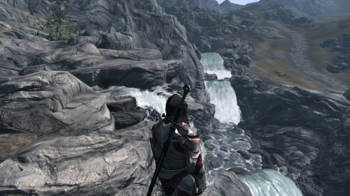 how to change to third person view skyrim