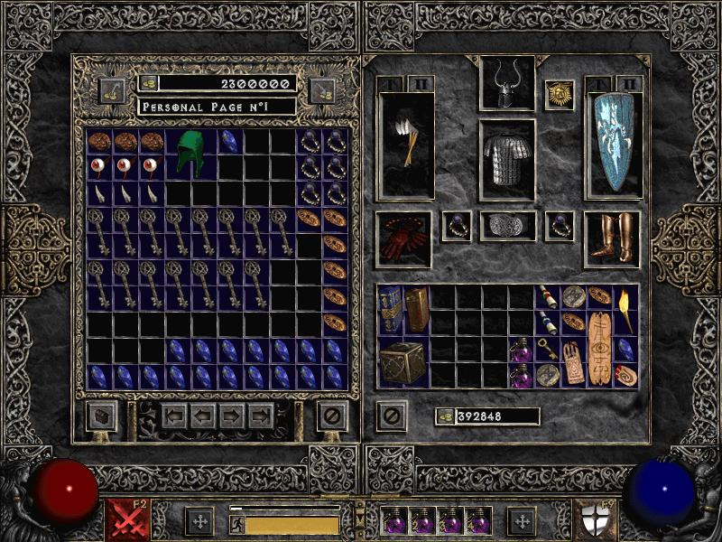 how to get infinite stash space diablo 2