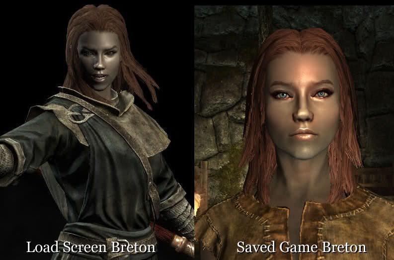 skyrim how to fix hair through hood