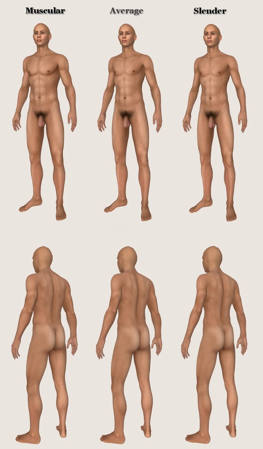 Oblivion Male Nude 25