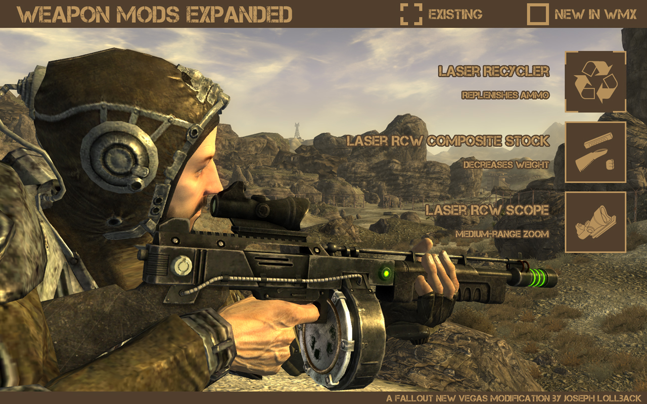 weapon mods expanded fallout new vegas weapons images page 3