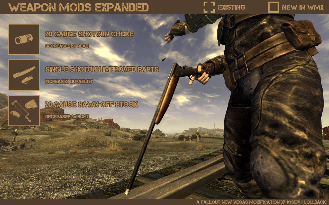 how to get weapon mods in fallout new vegas