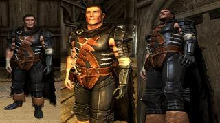 Berserk Black Swordsman Armor