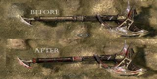 Daedric Weapons Enhanced