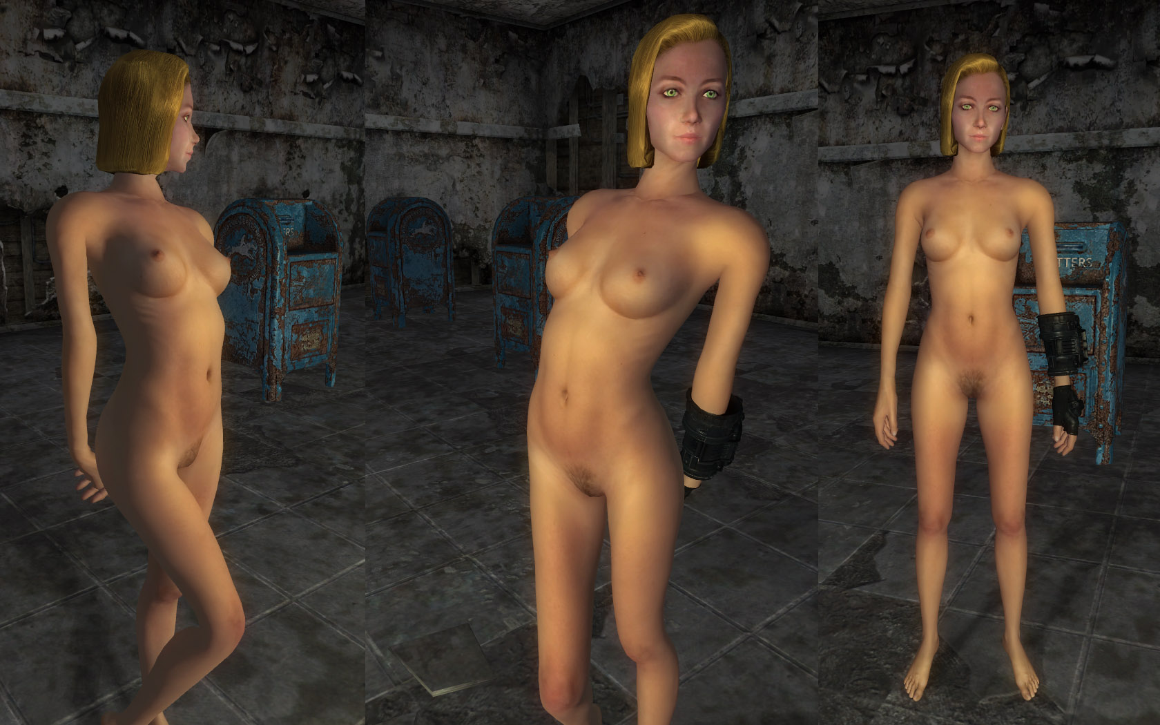Fallout nude skin adult clips