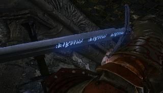 Celtic Sword Blood Runes