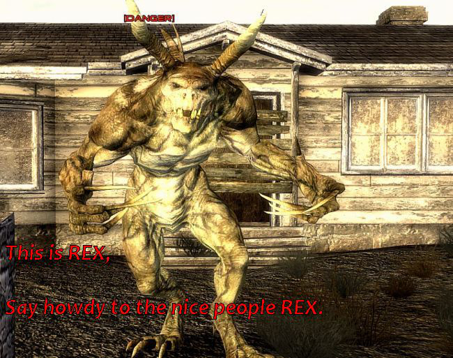 Monster Mod - Fallout New Vegas