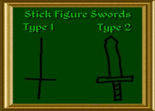 Stick Figure Swords
