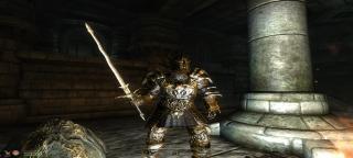 Golden Daedric Armor