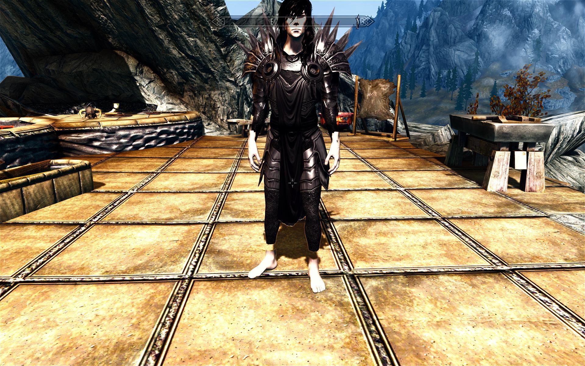 Bright and Dark Tyrael Armor - Elder Scrolls Skyrim Images