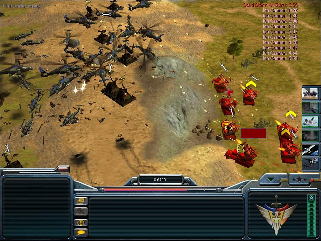Free download Command and Conquer Generals full pc, xbox and playstation cr