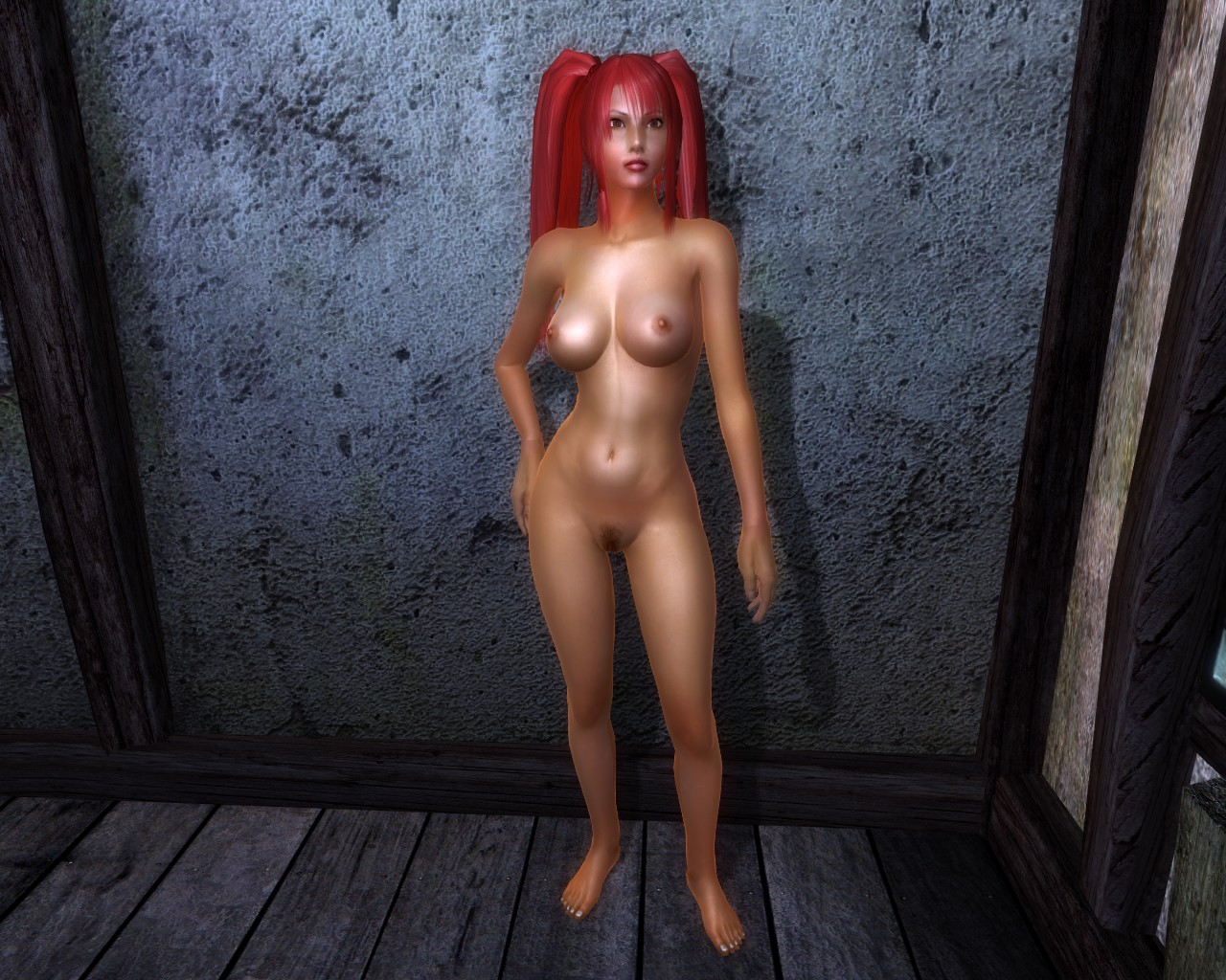 Oblivion nude 360 hentia nasty model