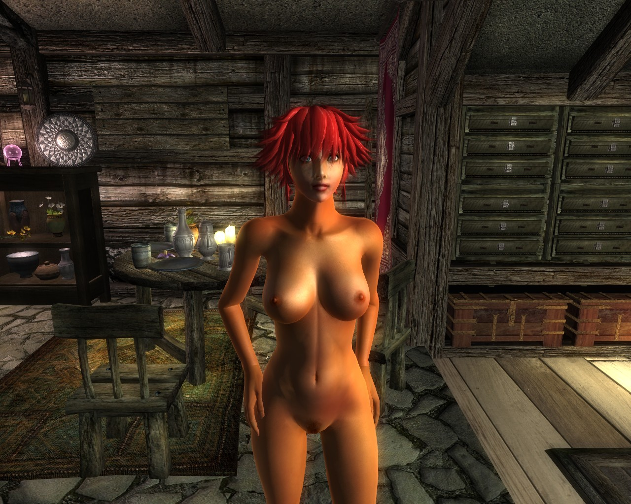 Nude mode oblivion exploited uncensored females