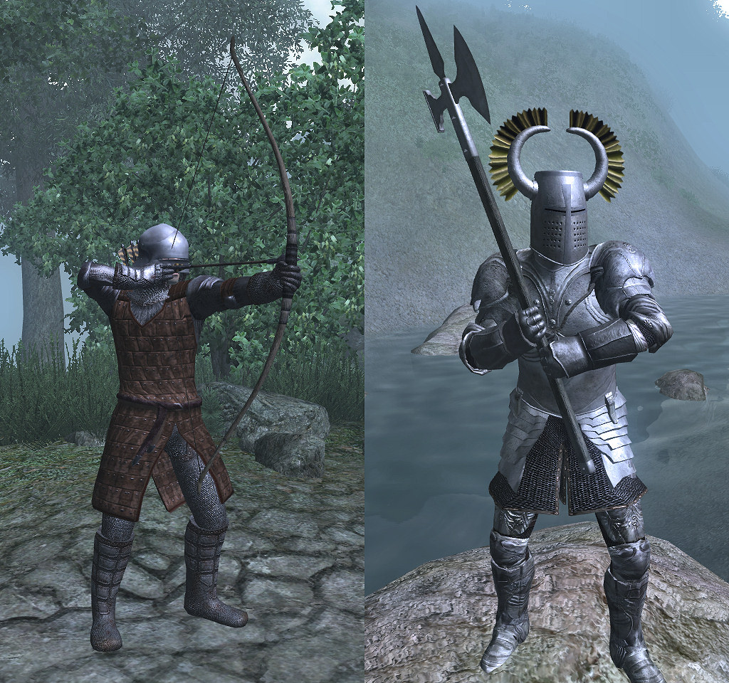 Knightly Armory - Elder Scrolls Oblivion Images