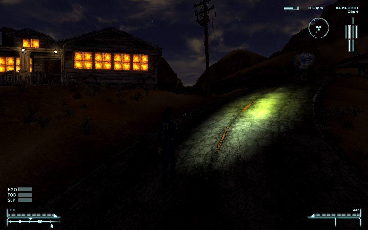 Flashlight NVSE - Fallout New Vegas Mods Images