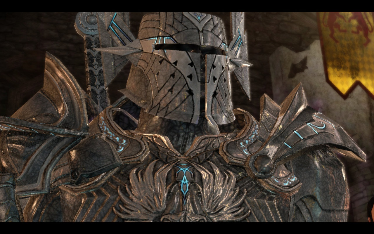 Image Runic Armor helmet Dragon Age Origins