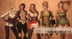 Fabulous Followers 5 Nord Girls for Elder Scrolls Skyrim