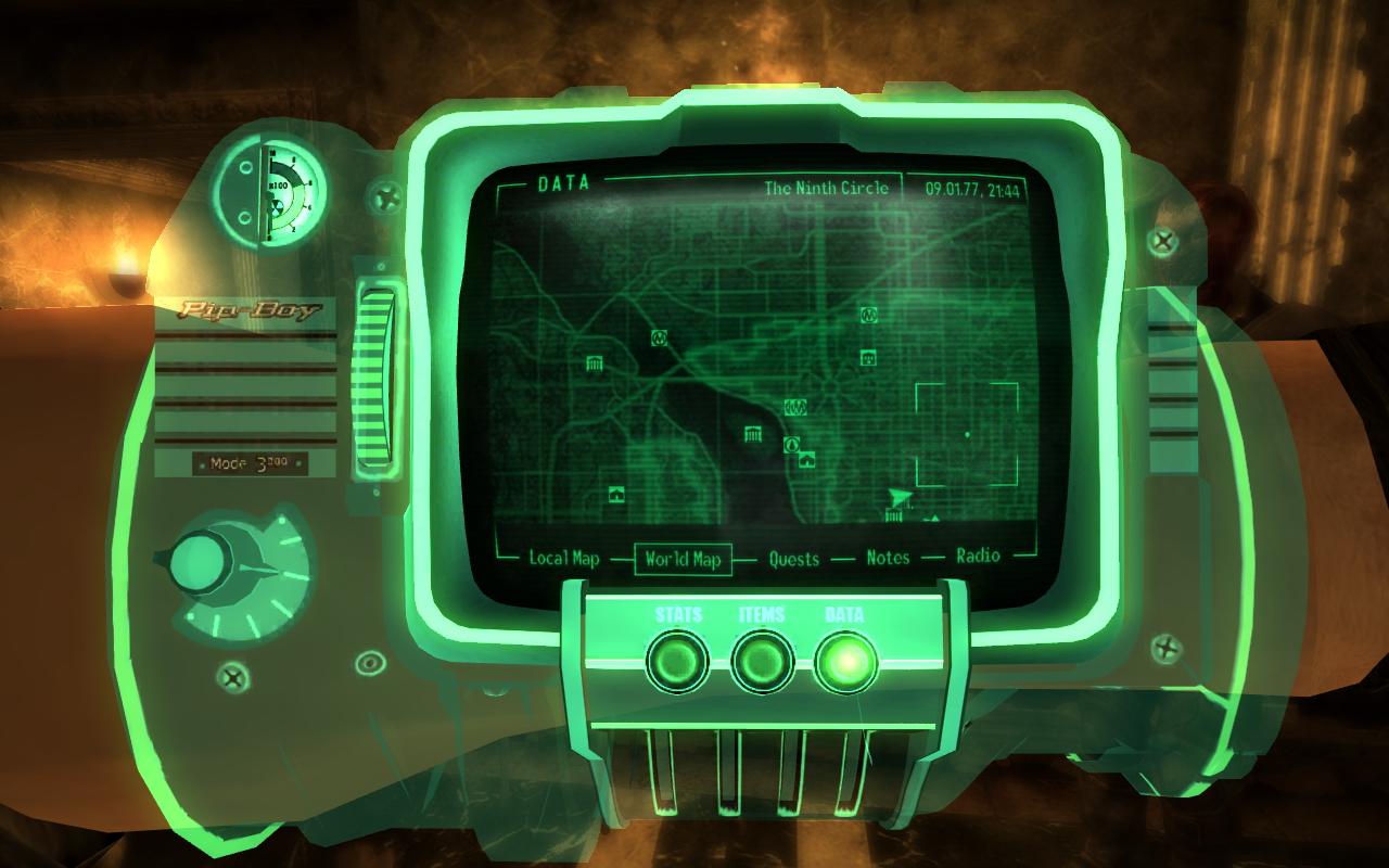 Fallout 3 моды на пип бой