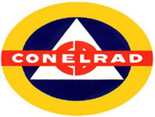 ConelRad 640 1240 Civil Defense Radio