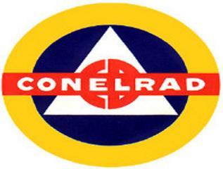 ConelRad 640 1240 Civil Defense Radio