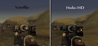 Holorifle HD Retexture
