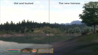Landscape LOD Texture Replacement Border regions